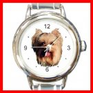 Yorkshire Terrier Dog Pet Animal Italian Charm Wrist Watch 109
