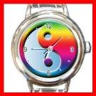 Yin Yang Chinese Italian Charm Wrist Watch 111