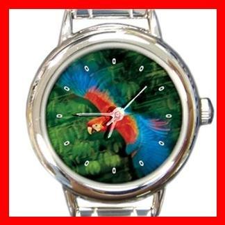 Parrot Flying Italian Charm Wrist Watch 117