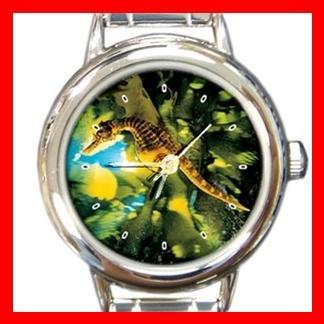 Big Belly Sea Horse Italian Charm Wrist Watch 124