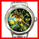 Big Belly Sea Horse Italian Charm Wrist Watch 124