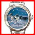 Wild Hare Animal Italian Charm Wrist Watch 127