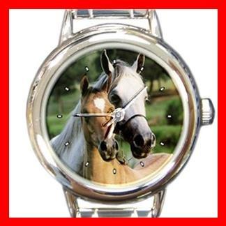Horses Horse Animal Italian Charm Wrist Watch 137