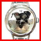 Schnauzer Dog Pet Animal Italian Charm Wrist Watch 140