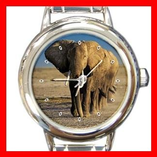 Elephants Troops Animal Italian Charm Wrist Watch 141