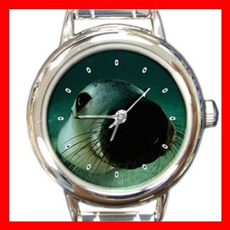 Australian Sea Lion Italian Charm Wrist Watch 143