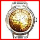 Zodiac Virgo Round Italian Charm Wrist Watch 206