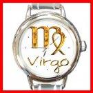 Zodiac Virgo Round Italian Charm Wrist Watch 207