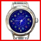 Zodiac Sign Round Italian Charm Wrist Watch 246