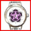 The Wiccan Rede Round Italian Charm Wrist Watch 255