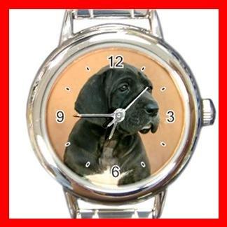 Neapolitan Mastiff DOG Pet Animal Round Italian Charm Wrist Watch 322