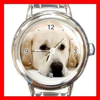 Labrador DOG Pet Animal Round Italian Charm Wrist Watch 328