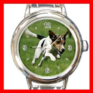 Jack Russell DOG Pet Animal Round Italian Charm Wrist Watch 337