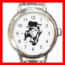 Geisha Geiko Janapese Art Round Italian Charm Wrist Watch 431