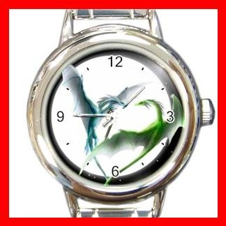 Dragons Love Myth Round Italian Charm Wrist Watch 461