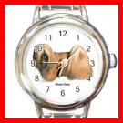 Lhasa Apso Dog Pet Round Italian Charm Wrist Watch 481