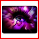 Purple OX Eye Mouse Pad MousePad Mat 003