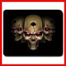 Skull Skeleton Goth Hobby Mouse Pad MousePad Mat 006