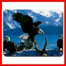 Eagle Bird Flying Animal Fan Mouse Pad MousePad Mat 011