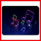 Music Notes Art Hobby Fan Mouse Pad MousePad Mat 018