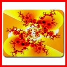 Fractal Ants Ant Art Yellow Mouse Pad MousePad Mat 035