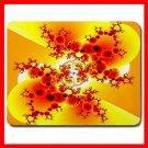 Fractal Ants Ant Art Yellow Mouse Pad MousePad Mat 035