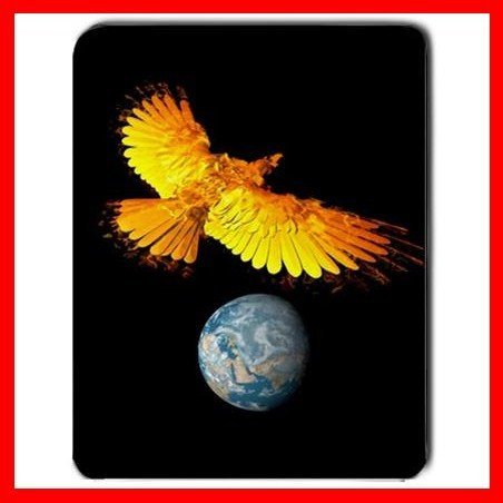 Phoenix Earth Myth Space Fun Mouse Pad MousePad Mat 041