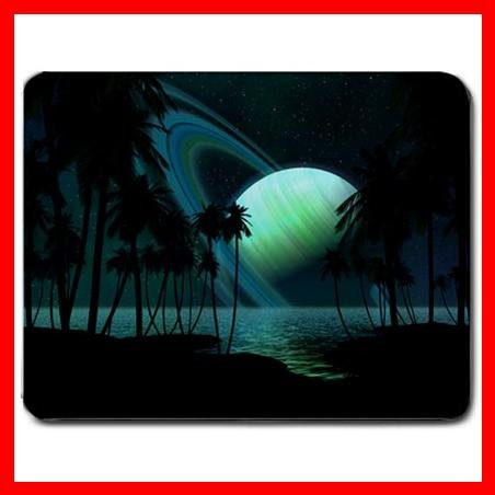 Tropical Moon Tree Nature Mouse Pad MousePad Mat 048