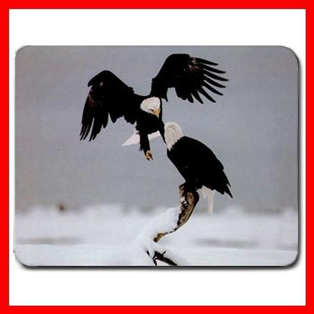 Bald Eagles Eagle Bird Play Mouse Pad MousePad Mat 055