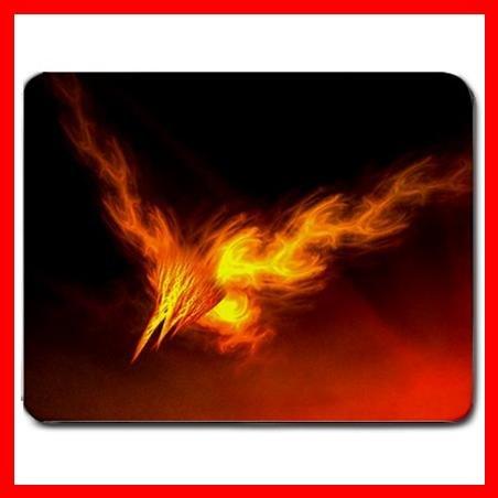 Phoenix Rising Bird Myth Fun Mouse Pad MousePad Mat 068