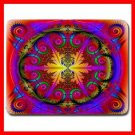 Psychedelic Kaleidoscope Fun Mouse Pad MousePad Mat 070