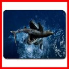 Tylosaurus Lizard Sea Animal Mouse Pad MousePad Mat 076