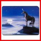 Unicorn Stonehenge Moon Myth Mouse Pad MousePad Mat 077