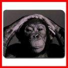 Chimpanzee Ape Animal Fun Mouse Pad MousePad Mat 082