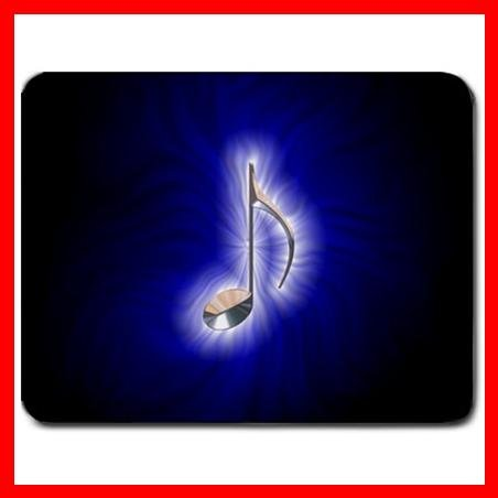 Blue Music Note Magic Hobby Mouse Pad MousePad Mat 086