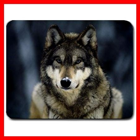 Grey Wolf Animal Hobby Fun Mouse Pad MousePad Mat 090