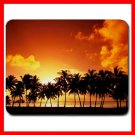 Palm Tree Sunset Mouse Pad MousePad Mat 095
