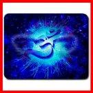 OM Symbol Blue Infinity Fun Mouse Pad MousePad Mat 097