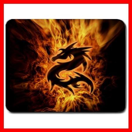 Dragon Fire Flames Fantasy Mouse Pad MousePad Mat 102