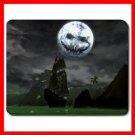 Halloween Moon Holiday Mouse Pad MousePad Mat 115