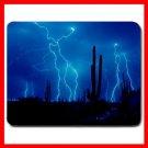 Desert Strike Blue Lightning Mouse Pad MousePad Mat 118
