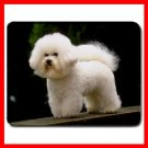 Bichon Frise Dog Pet Animal Mouse Pad MousePad Mat 123