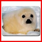 Baby Seal Wildlife Animal Mouse Pad MousePad Mat 125