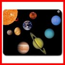 Solar System Space Science Mouse Pad MousePad Mat 132