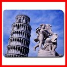 Italy Pisa Leaning Tower Mouse Pad MousePad Mat 134