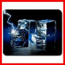 Ice Crystals Cubes 3D Hobby Mouse Pad MousePad Mat 135