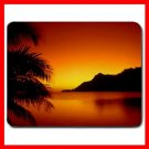 Hawaiia Sunset Scenery Hobby Mouse Pad MousePad Mat 137