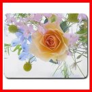 Flowers Spring Bouquet Rose Mouse Pad MousePad Mat 142