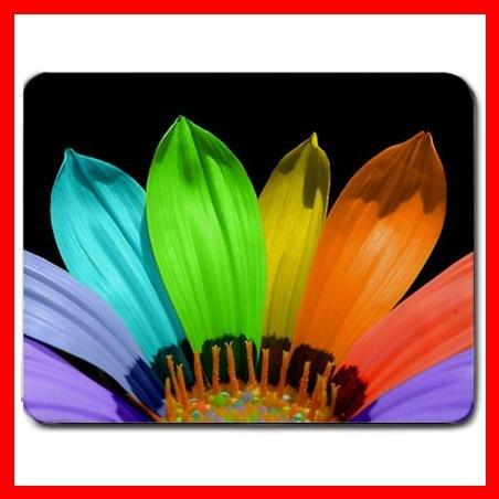 Rainbow Flower Hobby Leisure Mouse Pad MousePad Mat 150
