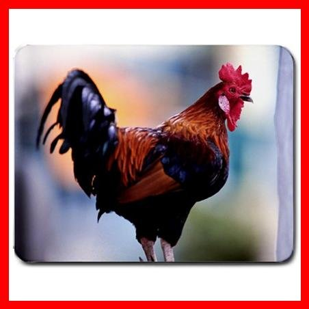 Rooster Cock Cockerel Animal Mouse Pad MousePad Mat 180